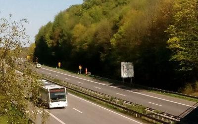 Autobahn-Busverkehr