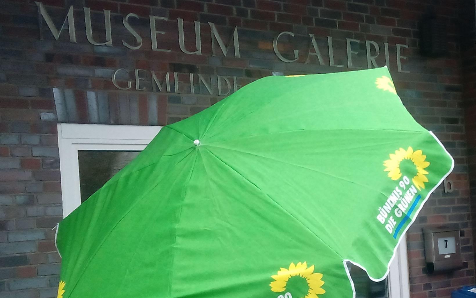 Le Grüner Schirm sehr gut besuchter neujahrstreff der grünen bündnis 90 die grünen