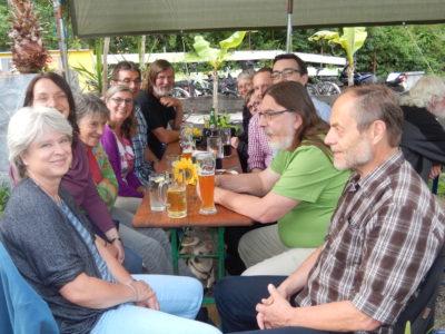 Sommerplausch im Roßdörfer Biergarten